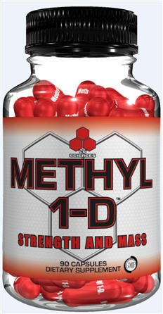 Methyl 1-D XL-Legal Gear Muscle Building Formula Strength & Mass, 135ct