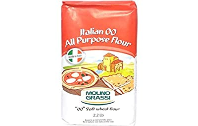 "Molino Grassi Italian ""00"" All Purpose Soft Wheat Flour - 2.2 lbs"