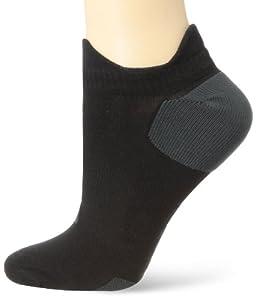 ASICS Nimbus Classic Low Cut Socks, Black/Iron, Small