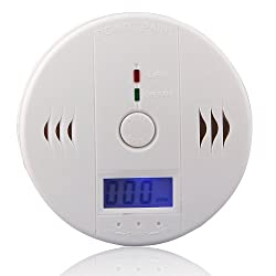 Generic Electric Carbon Monoxide Warning Detection Alarm w/ LCD Display,UK Stock Royal Mail Shipping by Generic