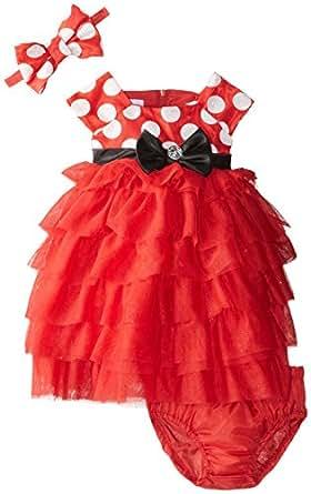 Amazon.com: Nannette Baby Girls' 3 Piece Minnie Mouse Dress Set with