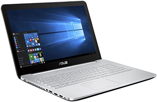 Asus n552vw fi043t 4k 156 inch gaming laptop silver intel core i7 6700hq 260 ghz processor 16 gb ram 2 tb hdd plus 128 gb ssd nvidia geforce gtx 960m 2g graphics card windows 10