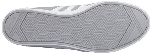 Adidas Performance Women's Courtset W Fashion Sneaker, Clear Onix/White/Shock Pink Silver, 8.5 M US