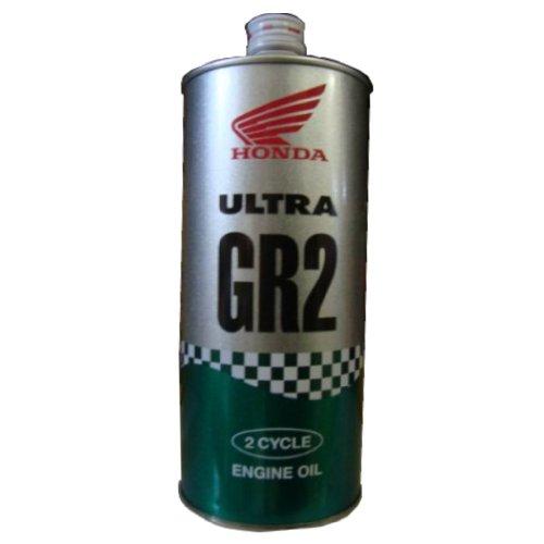 HONDA [ ホンダ純正オイル ] ULTRA GR2 [ ウルトラ GR2 ] 2サイクル・混合用 [ FC ] 部分化学合成油 [ 1L ] (2サイクル用) 08249-99911 [HTRC3]