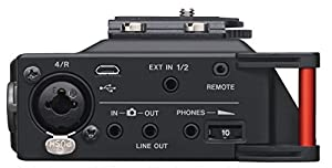Tascam DR-70D Liner PCM Recorder for DSLR with 1 Year Free Extended Warranty