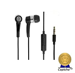 BlackBerry Z10 import Compatible Certified AAA Grade Stereo Earphones with High Treble and Bass Performance (with mic)