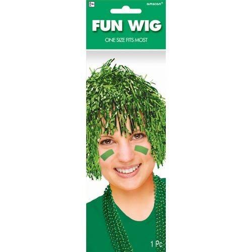 Green Fun Wig - 1