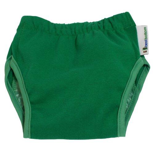 Best Bottom Training Pants, Pistachio, Large