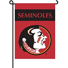 Buy NCAA Florida State Seminoles 2-Sided Garden Flag (13x18) by BSI
