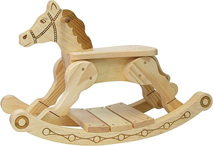 Rocker-Feller Rocking Horse - Made in USA