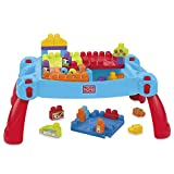 Mega Bloks First Builders Build 'n Learn Table Building Set