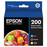 Epson Durabrite Ultra Multipack Ink Cmy For Xp-400 Printer, C13T200520, Cyan, Magenta and yellow Jaune