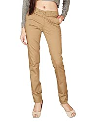 Focus Women's Superfine Cotton Trouser-36