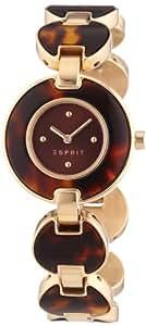 Esprit Damen-Armbanduhr Lagoon Tortoise XS Analog Quarz ES106572004