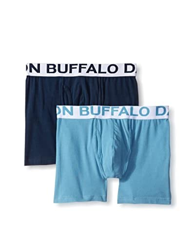 Buffalo Men's 2 Pack Stretch Jersey Boxer Brief