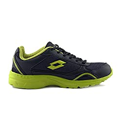 Lotto Navy/Lime Sports Shoes (UK-09)