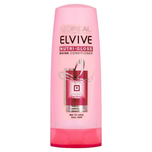 Elvive Nutri-Gloss Balsamo, 400 ml [Versione inglese]