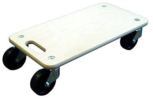 transportbrett mit harten rollen 100mm 300kg 60x30cm von hsi ean 4001221256029. Black Bedroom Furniture Sets. Home Design Ideas