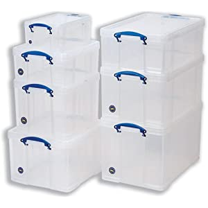 Really Useful Plastic Storage Boxes