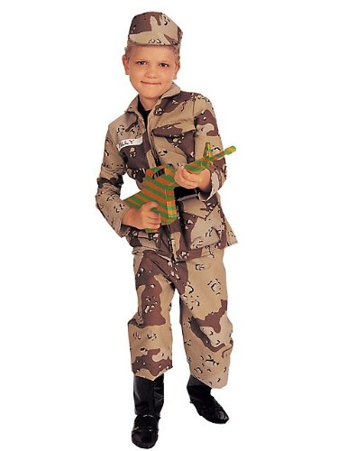 Rubies Special Forces Deluxe Kids Army Costume
