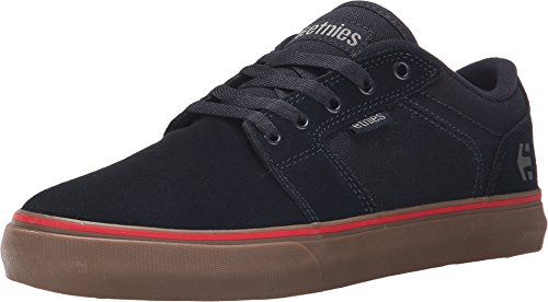 Etnies Men's Barge Ls Skateboarding Shoe, Navy/Navy/Gum, 8 M US