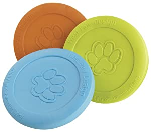 West Paw Design Zogoflex Dog Toy, Zisc, Colors Vary