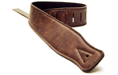 dbm-italian-leather-guitar-strap-dark-brown-ultra-soft-strap-up-to-13m-for-electric-acoustic-bass-gu