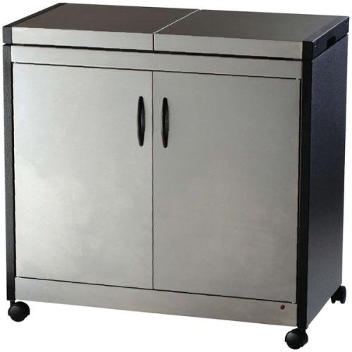Hostess HL6232BS Connoisseur console, brushed stainless steel