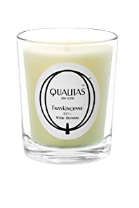 Qualitas Beeswax 6-1/2-Ounce Candle, Frankincense Scented