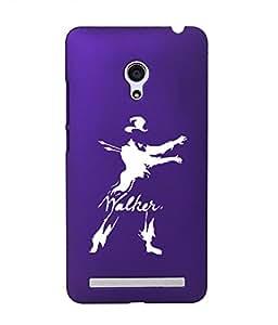 KolorEdge Back Cover For Asus Zenfone 6 - Purple (1922-Ke15188Zen6Purple3D)