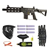 US Army Project Salvo Paintball Marker Gun 3Skull Mega Set