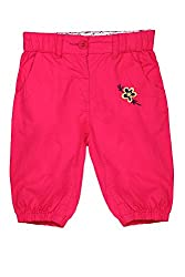 Chirpie Pie by Pantaloons Girl's Regular Fit Pants(205000005662014, Pink, 18-24 Months)