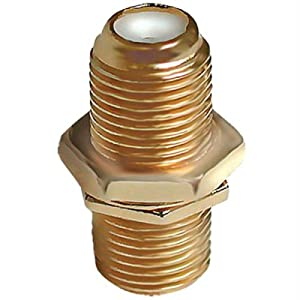 """Acoustic Research Performance Series Female To Female """"F"""" Barrel Connector (Discontinued by Manufacturer)"""