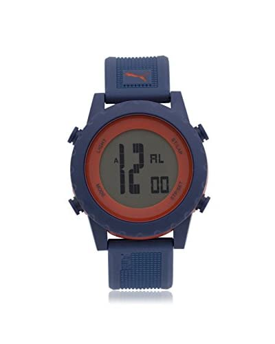 Puma Men's PU911071003 Blue/Grey Plastic Watch