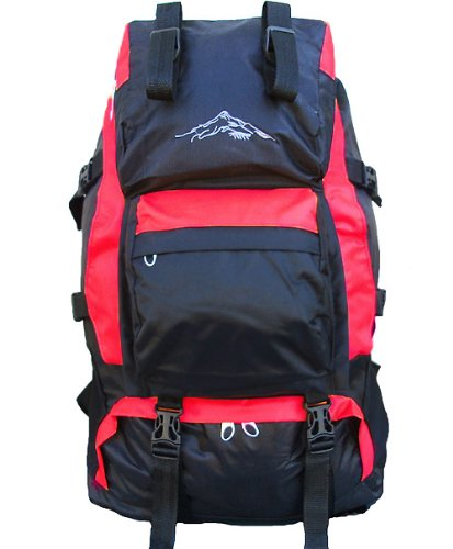 Brand New Waterproof Backpack Stylish Hiking Camping Daypack Red