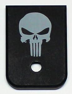 Magazine Base Floor Plate for Glock Pistols - 9mm & 40 Skull