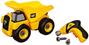Small World Express CAT Take-Apart Dump Truck