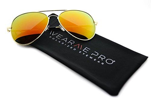 WearMe-Pro-Premium-Mirror-Lenses-Aviator-Sunglasses-wFlex-Hinges