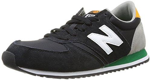 New Balance Men'S U420 Pop Safari Pack Running Shoe,Black/White,9.5 D Us