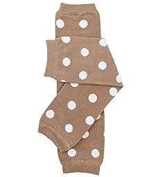 juDanzy polka dot leg warmers for baby or toddler boys & girls (Newborn (up to 12 pounds), Matrix Dot)