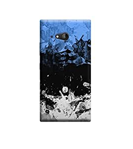 EPICCASE Premium Printed Back Case Cover With Full protection For Nokia Lumia 730 (Designer Case)