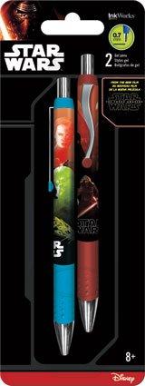 Inkworks IW0086 Gel Pens 2 Pack Star Wars The Force Awakens