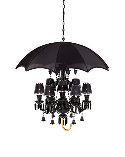 Zuo Sugilite Ceiling Lamp, Black