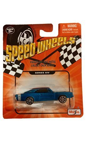 Speed Wheels 1969 Dodge Charger R/T ~ Blue (Series XIV)