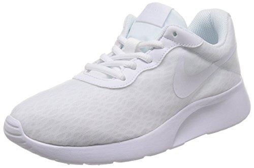 Nike Wmns Tanjun Br, Scarpe da Corsa Donna, Bianco (Bianco/Bianco/Bianco), 39 EU