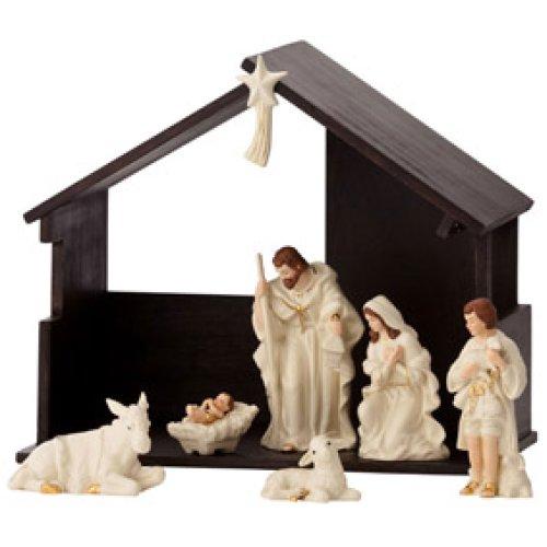 Belleek Holiday Collection Nativity Set Home Decor