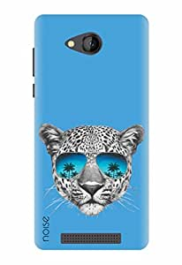 Noise Designer Printed Case / Cover for Lava A67 / Animated Cartoons / Leopard With Sunglasses