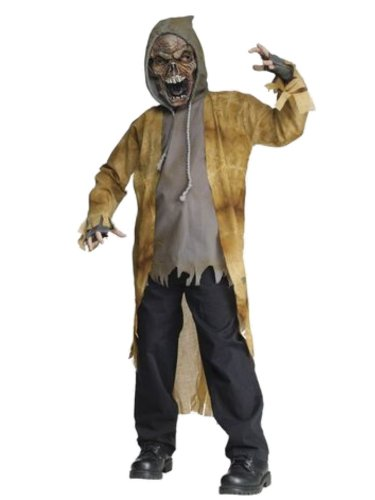 Fun World Boys Street Zombie Costume With Mask