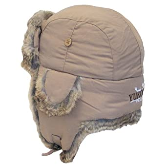 Yukon Tracks Original Alaskan Hat, TAN, M