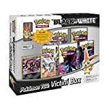Pokemon Card Game Black White Special Edition Victini Box 5 Booster Packs, A Foil Promo Card Victini Mini PVC Figure!